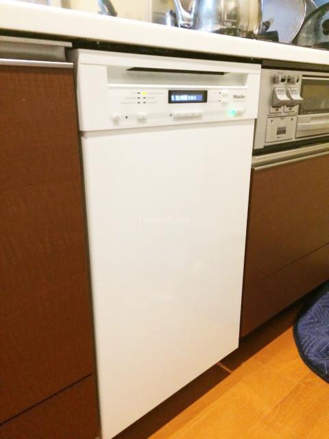 Miele ビルトイン食洗機G4820SCiの新規取り付け-グランシェソワⅡ