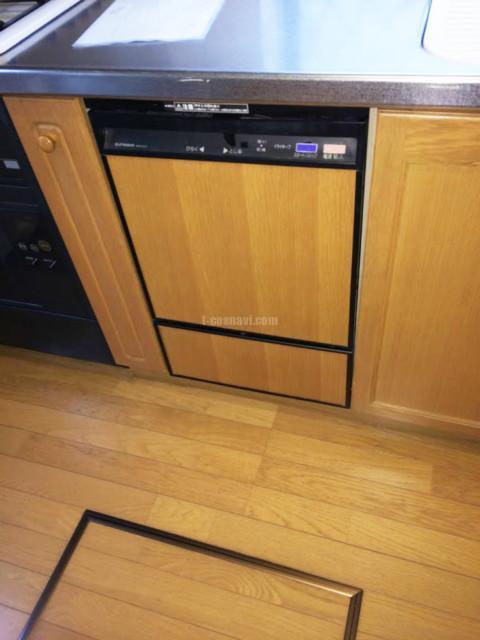旧サンウェーブ食洗機MSW-4531からパナソニックNP-45MD8Sへの交換工事-東京都江東区 パロス門前仲町