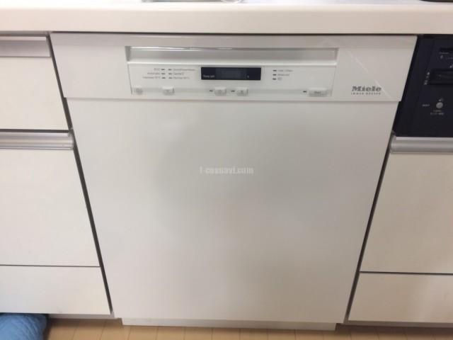 Miele ビルトイン食洗機G 6620 SCuの取り付け-東京都江戸川区興宮町