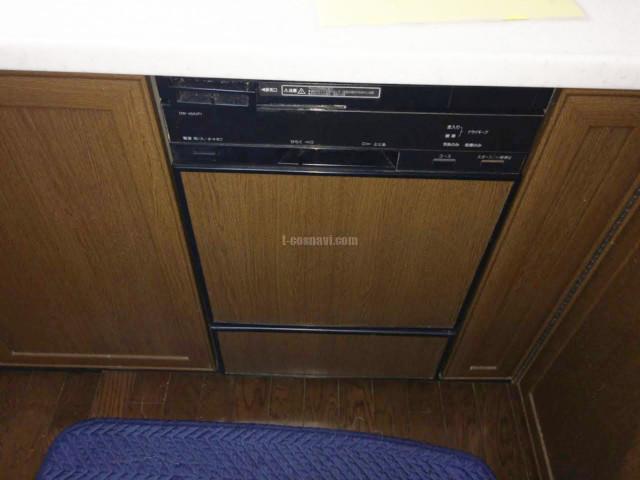 旧ナショナルビルトイン食洗機 DW-45A1P1からリンナイRSW-F402Cへの交換工事-神奈川県横浜市緑区青砥町ジュネス伊東