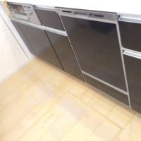 ファーストプラスキッチンにパナソニックビルトイン食洗機 NP-45MD8Sの取り付け-東京都あきる野市伊奈