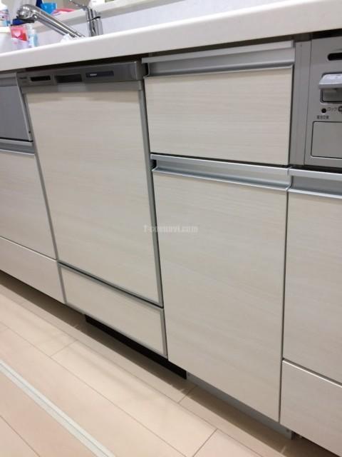 ファーストプラスキッチンにパナソニックビルトイン食洗機 NP-45MD8Sの取り付け-東京都昭島市緑町