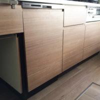 パナソニックビルトイン食洗機NP-45MD8Wの新規取り付け-東京都小平市鈴木町