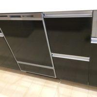 ファーストプラスキッチンにパナソニックビルトイン食洗機 NP-45MD8Sの取り付け-埼玉県川越市