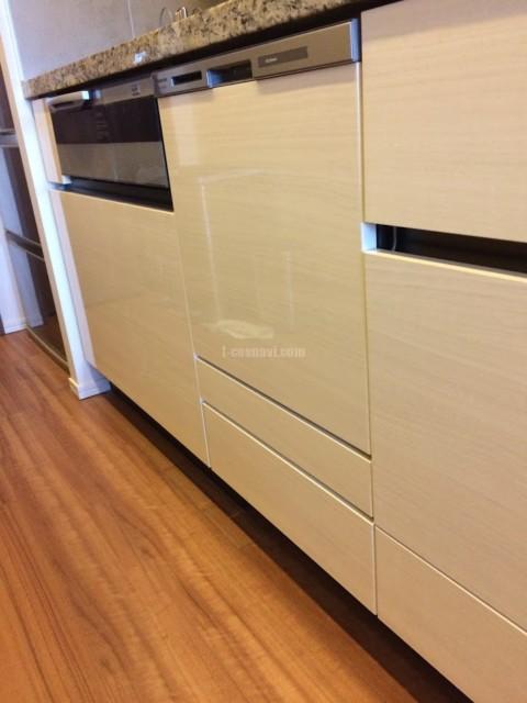 パナソニックビルトイン食洗機 NP-45MS8Wの新規取り付け-ザ・パークハウス晴海タワーズ ティアロレジデンス