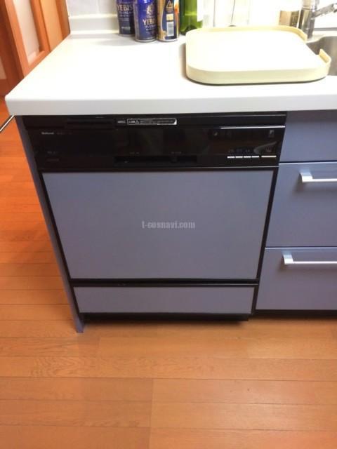 National  NP-9200BPを取り外してMiele ビルトイン食洗機G 6620 SCuの取り付け-東京都大田区山王