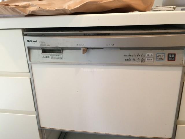 ナショナルビルトイン食洗機NP-P60X1P1AAからパナソニック食器洗い乾燥機NP-P60X1S1AAへの交換工事-ルクセンブルクハウス