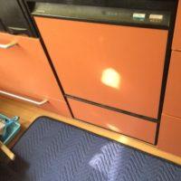 旧ナショナルビルトイン食洗機 NP-U45B1P1AAからパナソニックNP-45MD8Sへの交換工事-埼玉県さいたま市浦和区常盤