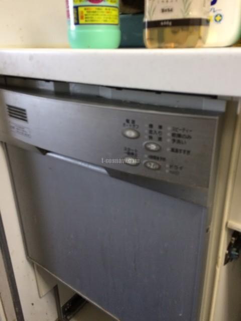 ハーマンビルトイン食洗機FB4511PからリンナイRSW-404A-Bへの交換工事-蘇我ロイヤルコンフォートB棟