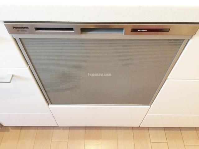 リンナイビルトイン食洗機RKW-402Aからパナソニックビルトイン食洗機NP-45MS8Sの交換工事-千葉県市川市宮久保