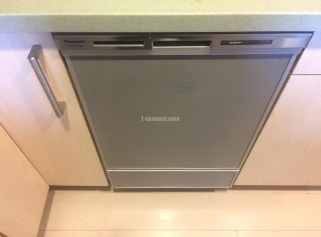 日立ビルトイン食洗機 KF-P45TLSKからパナソニック食器洗い乾燥機NP-45MD8Sへの交換工事-パークタワー東戸塚