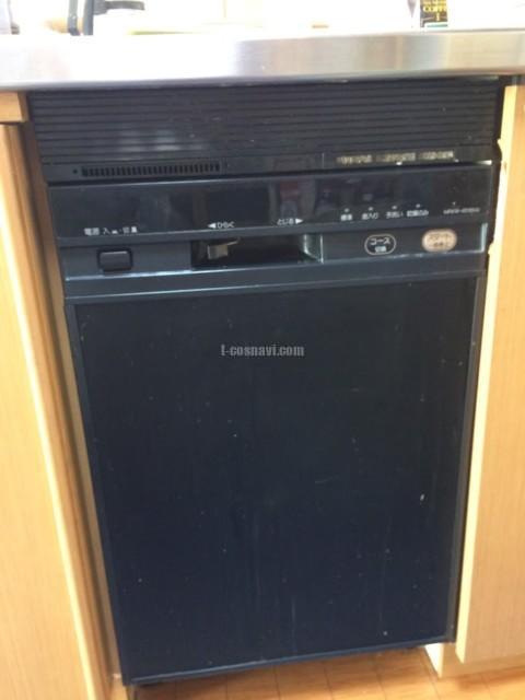 リンナイビルトイン食洗機 RKW-451Bからパナソニック食器洗い乾燥機NP-45MD8Sへの交換工事-千葉県四街道市鷹の台