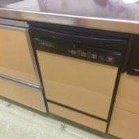 ナショナルビルトイン食洗機NP-P45FD1PAAからNP-45MD8Sへの交換工事-東京都東大和市南街