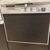 ナショナルビルトイン食洗機 NP-P45F1S1BBからNP-45MD8S 下部収納付きへの交換工事-東京都板橋区本町