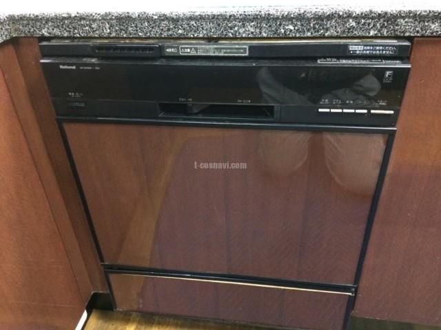 ナショナルビルトイン食洗機NP-9200BPからMiele G6824 SCuの交換工事-東京都北区岩淵町