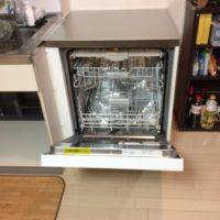 Miele ビルトイン食洗機G 6620 SCuの新規取り付け工事-ニチモ日吉第5コーポラス