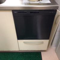 クリナップビルトイン食洗機CWPR-45BからリンナイRSW-404A-Bへの交換工事-埼玉県富士見市