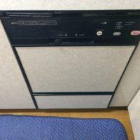 ハーマンビルトイン食洗機FB-4503PからリンナイRSW-F402C-SVへの交換工事-千葉県君津市
