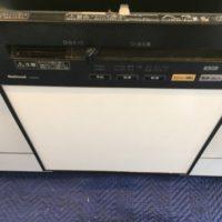 松下電器産業ビルトイン食洗機 E42EW1からパナソニック食器洗浄器 NP-45MD8Sの交換工事-埼玉県吉川市