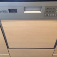 三菱電機ビルトイン食洗機 EW-BP-45SからNP-45MS8Sの交換工事- アルコード葛西