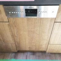 ガゲナウビルトイン食洗機DI250-441の設置工事-神奈川県茅ヶ崎市