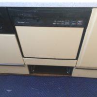 タカラスタンダードビルトイン食洗機TDWP-45からリンナイビルトイン食洗機 RKW-404A-SVへの交換工事-埼玉県入間郡毛呂山町