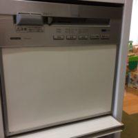 クリナップビルトイン食洗機 CWPM-45DS からNP-45MS8Sへの交換工事-千葉県流山市三輪野山